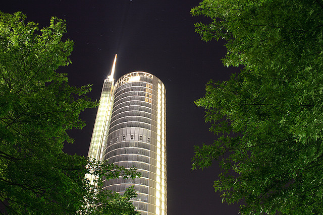The RWE AG Tower, Essen (photo by Sandra Schmechel)