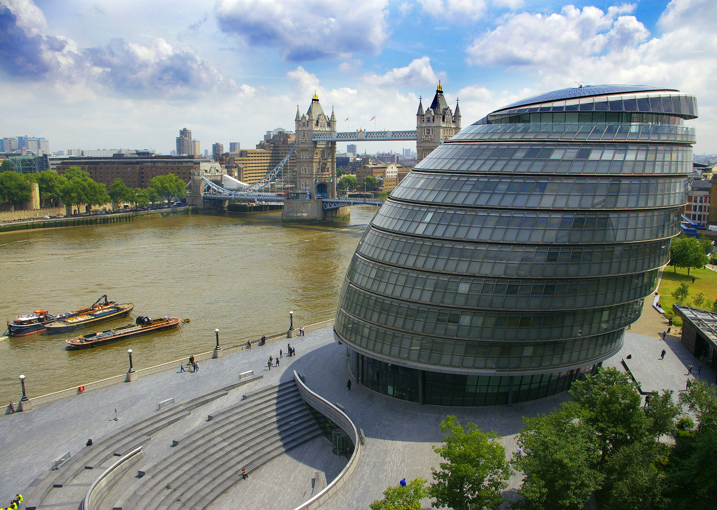 City Hall, London by Norman Foster