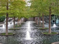 Fountain Place, Dallas by Dan Kiley