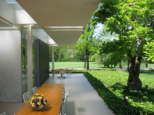 Miller House, Columbus by Eero Saarinen and Dan Kiley