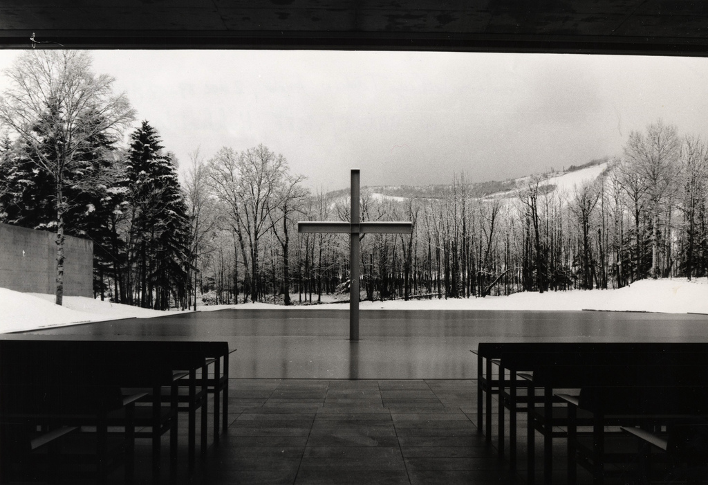 Chapel on the Water, Japan by Tadao Ando