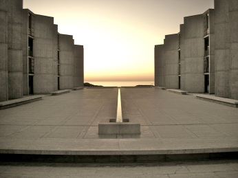 Salk Institute for Biological Studies, California by Louis Kahn