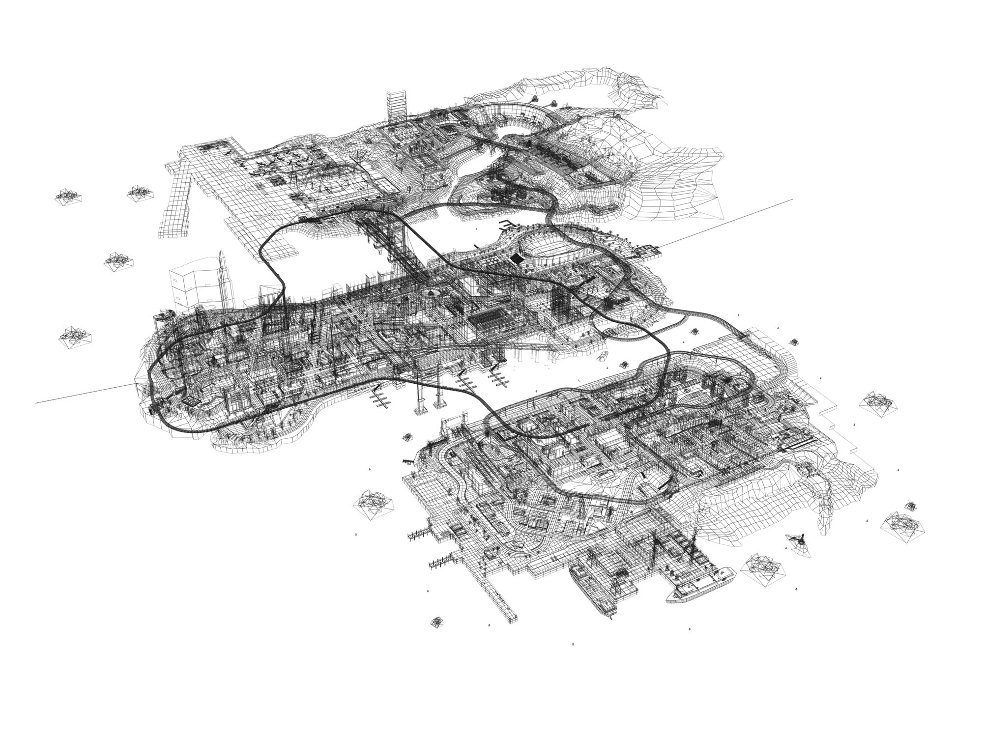 LibertyCity-GTAIII-sketch-map